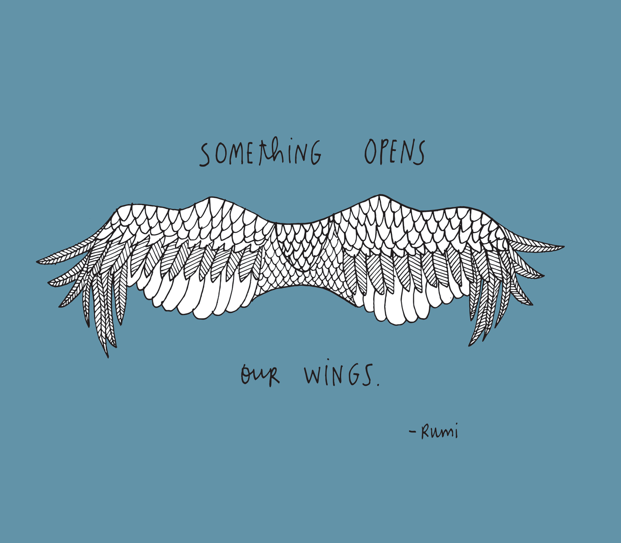 Something Opens Our Wings. Yes, Something Indeed. Mystery, Nature, The .