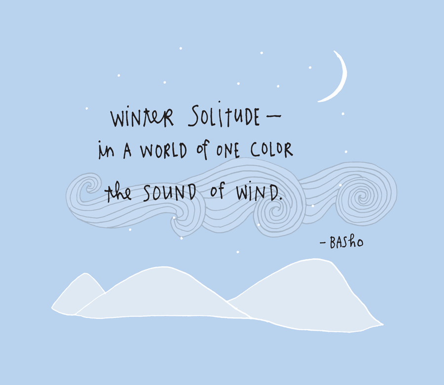 BASHO-HAIKU-WINTER-SOLITUDE