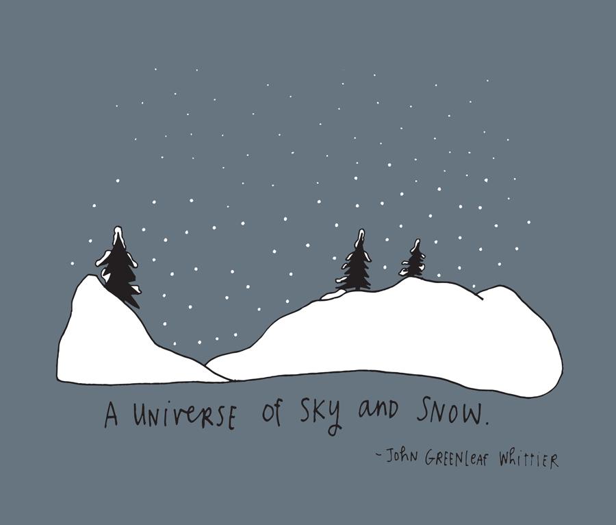 JOHN GREENLEAF UNIVERSE OF SNOW